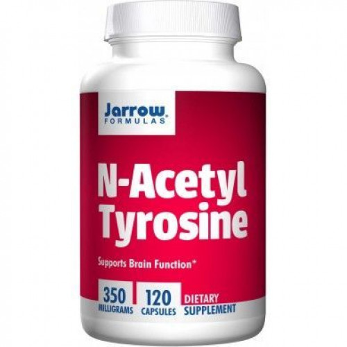 Jarrow - N-Acetyl Tyrosine 350mg - 120 kapsułek