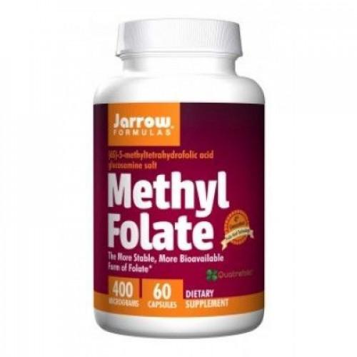 Jarrow - Methyl Folate 400 mcg - 60 kapsułek