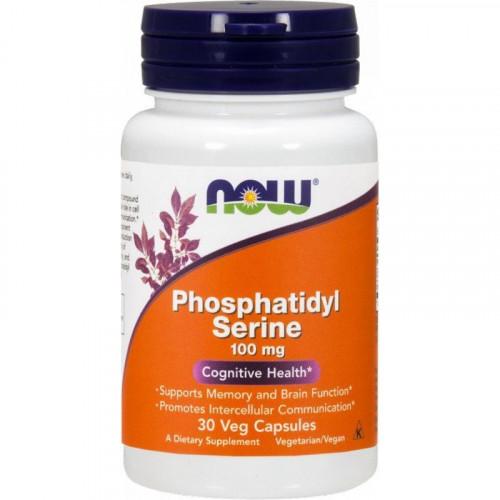 NOW - Phosphatidyl Serine 100 mg - 30 kapsułek