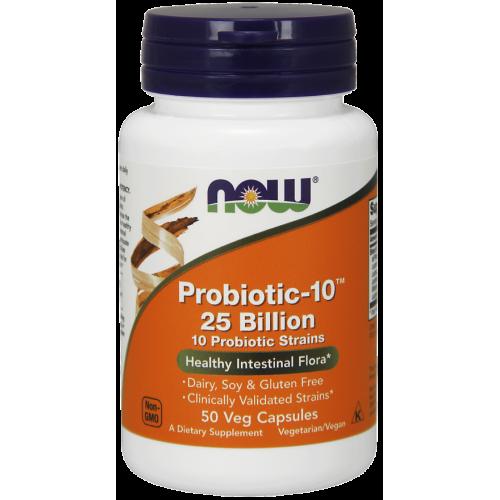 NOW - Probiotic-10 25 Billion - 30 kapsułek