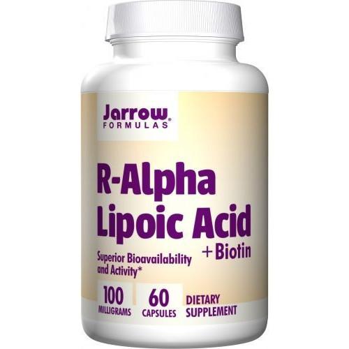 Jarrow - R-Alpha Lipoic Acid + Biotin - 60 kapsułek