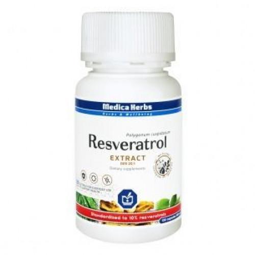 Medica Herbs - Resweratrol - 120 kapsułek