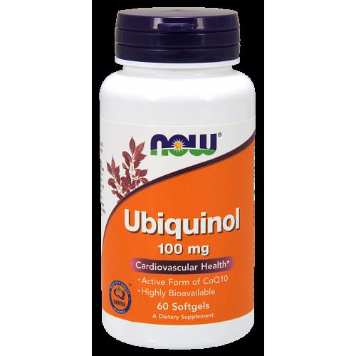 NOW - Ubiquinol 100 mg - 60 kapsułek