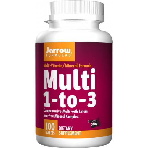 Jarrow - Multi 1-to-3 - 100 tabletek